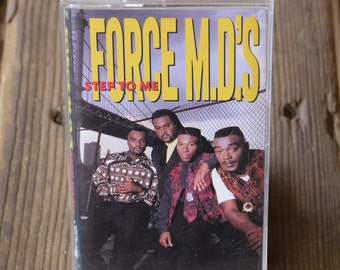 Force MD's - Step To Me Cassette Tap (1990 Original US Release *Out of Print*)
