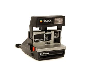 Vintage 1980s Polaroid Spirit 600 LMS Instant Film Camera Deadstock Never Used Works