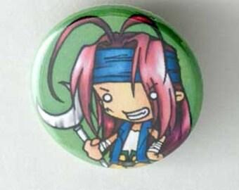 Saiyuki - Gojyo Button