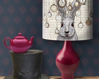 Lamp shades etsy alice in wonderland decor alice lampshade aloadofball Choice Image