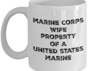 Marine Corps Wife Coffee Mug