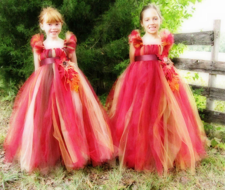 Fall Flower Girl Dresses