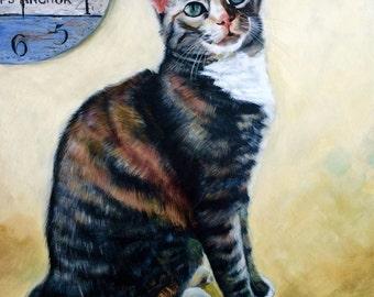 Pet Portrait- Beautiful Tabby Cat