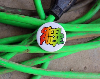 Steel Pulse - Pinback or Magnet Button or Badge Reel