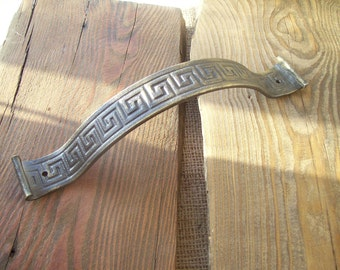 Forged Viking Style Handle / Antique Style Door Handles / Barn Door Handle / Door Pull / Door Pull Heavy Duty / Rustic Knobs