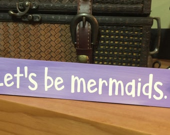 Mermaids Shelf Sitter Block