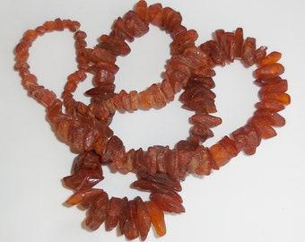 Spectacular BALTIC AMBER Huge Antique NECKLACE...Vintage Genuine Amber Gemstone Large Natural Beads...53g...Protection...Wonderful Gift!