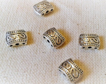 Set of 5 multirangs ethnic beads