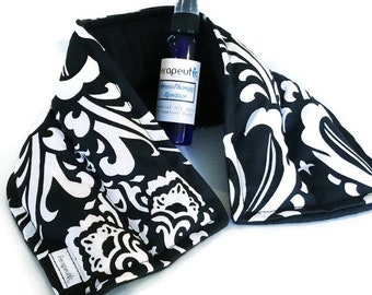 Neck Rice bag, Heat pack, Heat Pad, Rice Heating Pad Lavender Microwave Warmer for Neck, Gift for Someone who has everything