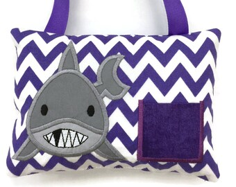 Tooth Fairy Pillow Girls - Shark Tooth Fairy Pillow - Tooth Fairy Gift - Loose Tooth