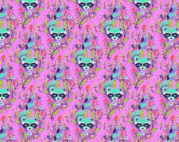 Tula Pink All Stars - PWTP037 Fuchsia Raccoon - 1/2yd