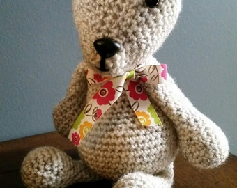 Crocheted Polar Bear Amigurumi
