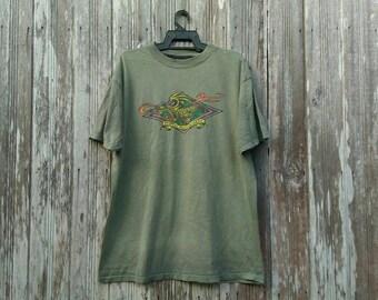 Rare!!! Vintage 90s Powell Peralta T-shirt Powell Peralta Skateboard Steve Caballero Skater xl size