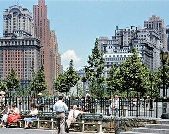 New York City , Battery Park - 1950s