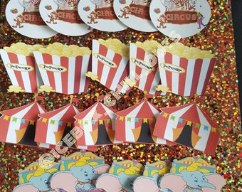 Circus treat toppers