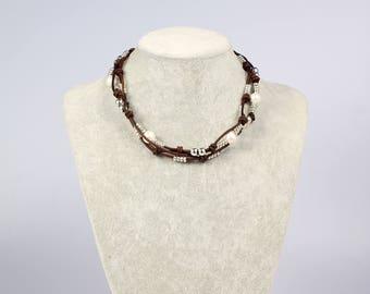 Pearl necklace choker,white pearl choker,leather choker,pearl choker necklace,leather pearl necklace,for women,pearl leather necklace