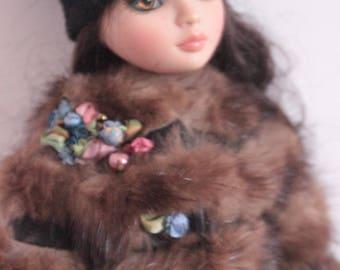 Mink fur coat for ellowyne wilde