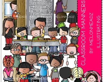 Classroom Manners clip art