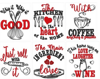 Kitchen quotes etsy for Kitchen design quotes