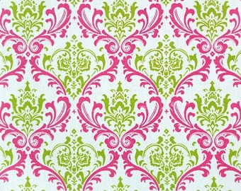 Chartreuse Green Fuchsia Pink Napkins Floral Wedding Table Centerpiece Fabric Hot Pink Napkins Linens Decoration