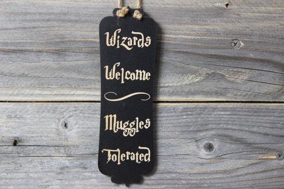 Like this item? & harry potterdoor knob hangerwizards welcomechalkboarddoor