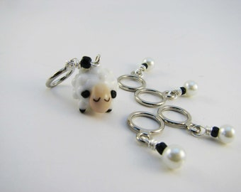 Sheep Non-Snag Stitch Markers