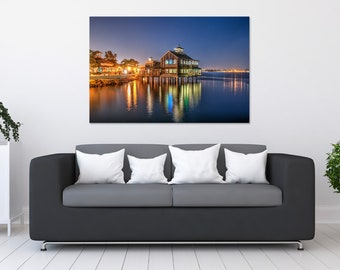 San Diego Seaport Village Photo Print | Wall Art | Nature and Landscape Photography | (5x7, 8x10, 12x18, 16x24, 20x30, 24x36, 40x60)