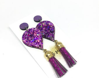 Dangle Earrings - Tassels