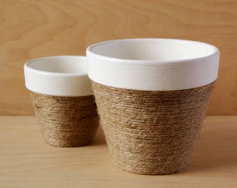 Handcrafted Plant Pots