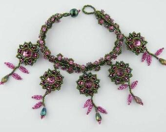 Beading Tutorial - Spring Fling Bracelet