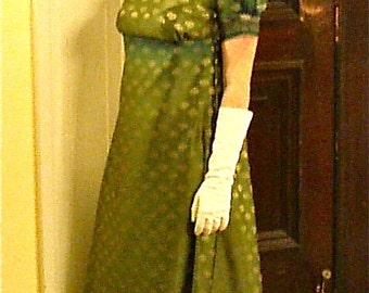 Custom regency dress, You send me all the materials of your choice