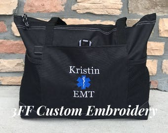 Personalized EMT Paramedic Select Tote
