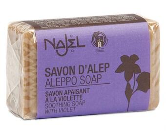 Aleppo Soap Fragrance Violet 100 gr
