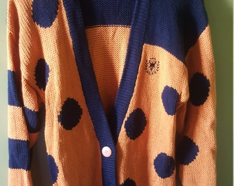 1980's vintage sweater. Old school style