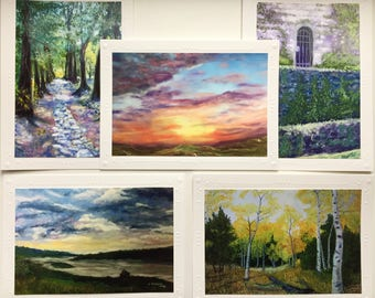 Notecards from Original Pastel Paintings