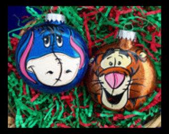 Eeyore Ornament - Tigger ornament - Winnie the Pooh Ornament - Eeyore Gift - Tigger Gift - Pooh Bear