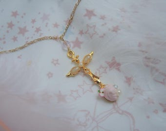 A Taste of Sweet Apple Snow | Dessert Spoon Necklace