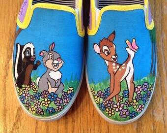 Custom Hand Painted Bambi Shoes