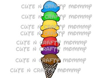 Tall Ice Cream