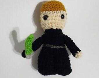 Crochet Amigurumi Plush -Chibi Luke Skywalker, Star Wars