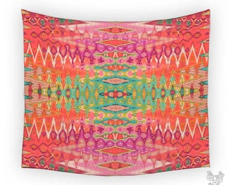 Wall Tapestries, Colorful tapestry, Boho Tapestry, Tapestry Wall Hanging, Tapestry, Bohemian Wall tapestries, Geometric tapestry, Wall art