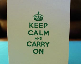 Keep Calm, Thinking of you  *Free Shipping*