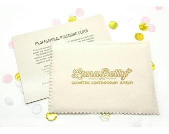 Fine Jewelry Polishing Cloth // LanaBetty
