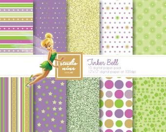 Tinkerbell Digital Paper