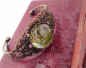 moss bronze bracelet vintage