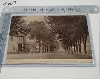 10%OFF3DAYSALE North Girard PA Postcard  Department Store