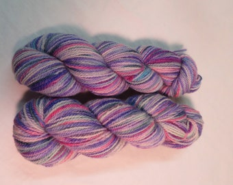 Pinks, Purples, MIll Spun Yarn