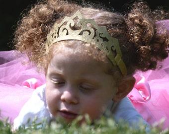 Royal Princess Tiara- The Delhi tiara- Princess Crown, Birthday Crown, Baby Hair, Girl's Hair, Headpiece, Disney, Princess Tiara