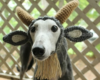 Goat Snood for Greyhounds