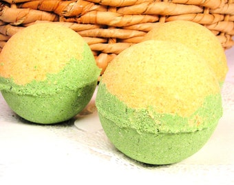 3 Melon cantaloupe honeydews Bath Bombs